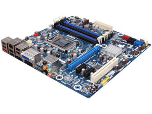 Intel BLKDH67BLB3 LGA 1155 Intel H67 HDMI SATA 6Gb/s USB 3.0 uATX (G10189-213) Desktop Intel Motherboard with complete accessories.