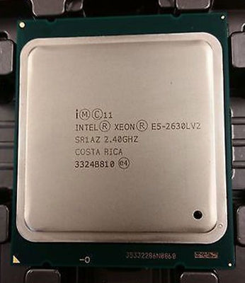Intel Xeon E5-2630Lv2 Hexa-core (6 Core) 2.40 GHz Socket FCLGA2011 1.50 MB 15 MB Cache 22 nm 80W  (SR1AZ) Server Processor