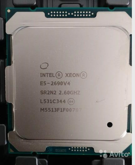 Intel Xeon E5-2690v4 14 Core 2.60GHz 9.60GT/s QPI 35MB L3 Cache Socket FCLGA2011-3 (SR2N2) Server Processor