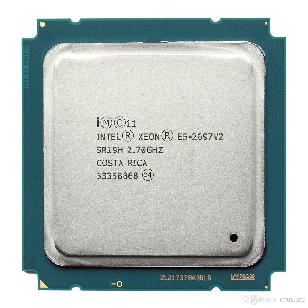 Intel Xeon E5-2697v2 Twelve-Core Ivy Bridge EP Processor 2.7GHz 8.0GT/s 30MB Socket LGA 2011 (SR19H) Server Processor.