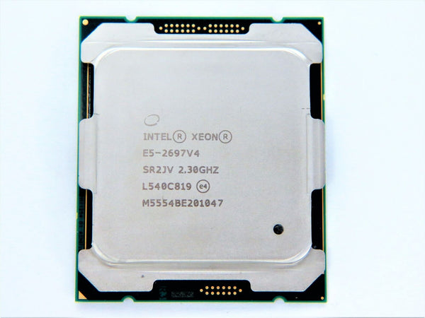 Intel Xeon E5-2697v4 18 Core 2.30GHz 9.60GT/s QPI 45MB L3 Cache E5-2697 v4 Socket FCLGA2011-3 (SR2JV) Server Processor