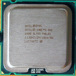 Intel E6400 Core 2 Duo Conroe 2.13GHz 1066Mhz FSB 2MB L2 65nm Socket LGA775 (SL9T9 / SL9S9 / SLA97) Desktop Processor