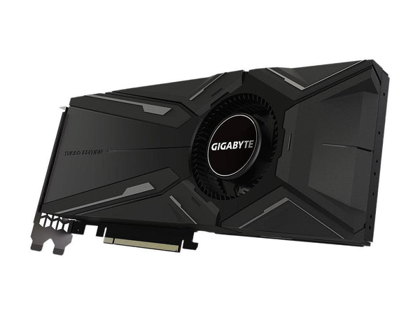 GIGABYTE 8GB GV-N2080TURBO OC-8GC GeForce RTX 2080 TURBO OC 8G Graphics Card, Turbo Style Fan 8GB 256-Bit GDDR6 Video Card - GV-N2080TURBO OC-8GC