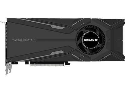 GIGABYTE 8GB GV-N208STURBO-8GC GeForce RTX 2080 Super Turbo 8G Graphics Card Turbo Style Fan 8GB 256-Bit GDDR6 Video Card - GV-N208STURBO-8GC.