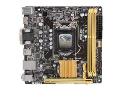 Asus H81I-PLUS/CSM Core i7/i5/i3 H81 Socket LGA1150 16GB DDR3 PCI Express SATA USB Mini-ITX Desktop Motherboard
