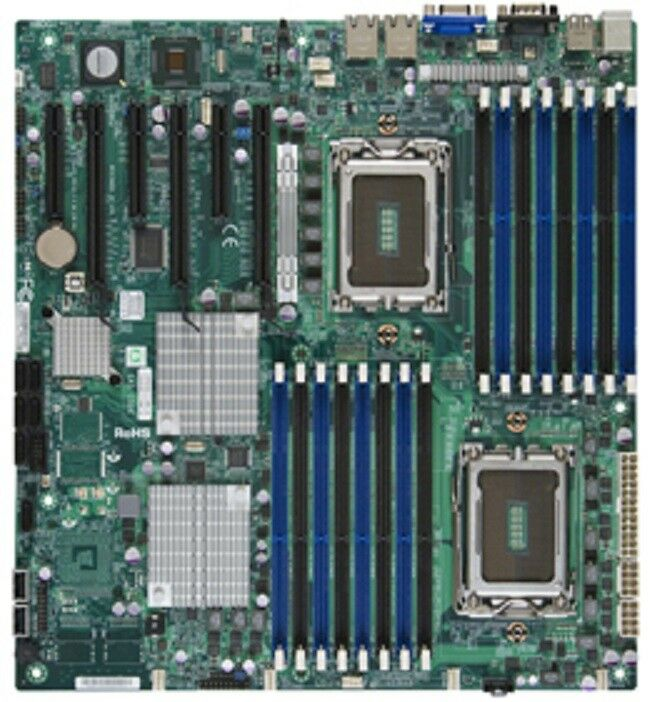 Supermicro H8DG6-F Dual Socket G34/ AMD SR5690/ V&2GbE/ Extended ATX Server Motherboard