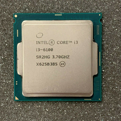 Intel i3-6100 3.7GHz 3M Socket LGA 1151 (SR2HG) Desktop Processor
