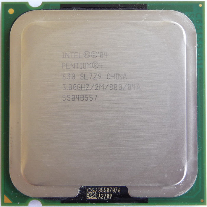 Intel 630 Pentium 4 -3.0GHz Socket LGA775pins 2M 800FSB JM80547PG0802MM (SL7Z9 / SL8Q7) Desktop Processor