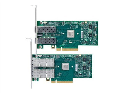 Mellanox MCX311A-XCAT ConnectX-3 EN PCI Express 3.0 x8 Fibre Channel over Ethernet (FCoE) Network adapter.