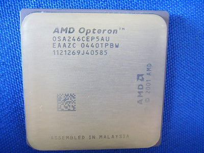 AMD Opteron 246 OSA246CEP5AU 2.0GHz 1M Socket 940pins Server Processor