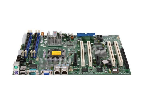 Supermicro PDSME+ Intel 3010 Socket LGA775 FSB1066Mhz 4DDR2 SATA RAID Video Dual GbE Lan ATX Server Motherboard.