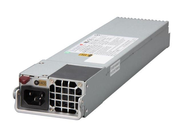 Supermicro 1400W 24Pin 1U Server 80Plus Gold Power Supply - PWS-1K41P-1R