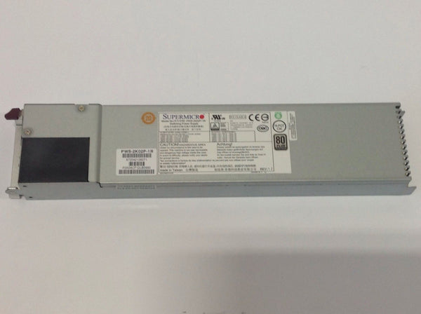 Supermicro PWS-2K02P-1R 2000W Redundant Platinum Server Power Supply - PWS-2K02P-1R