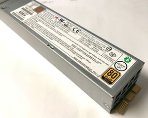 Supermicro 700W Hot-Swap for 1U Chassis SC819 SC119 80Plus Server Power Supply - PWS-703P-1R.