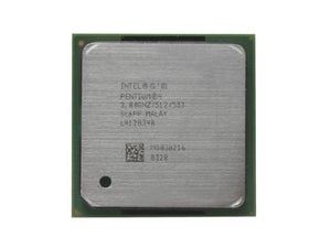 Intel Pentium 2.8Ghz 512K 533 FSB Socket 478Pins RK80532PE072512 (SL6S4 / SL6PF) Desktop Processor.