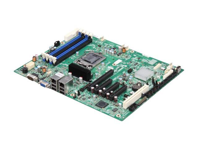 Intel S1200BTL (AA# E98681-304 / E98681-352) iC204 Chipset Socket H2 LGA1155 ATX 1 x Processor Support Server Motherboard