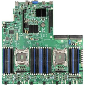 Intel S2600WT2 (PBA# H21573-XXX) Intel Chipset Socket R3 (LGA2011-3) Proprietary Form Factor 2 x Processor Support DDR4 RAID Supported Controller Video Chipset Server Motherboard - S2600WT2.