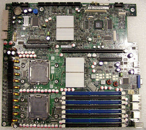 Intel S5000PALR DP LGA771 Max16GB 45nm DDR2 PCIe Video GbE2 Server Motherboard.