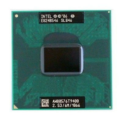 Intel T9900 Core 2 Duo Penryn 3.06GHz 6MB L2 Cache Socket P 35W DC (SLGKH / SLGEE ) Mobile Processor.