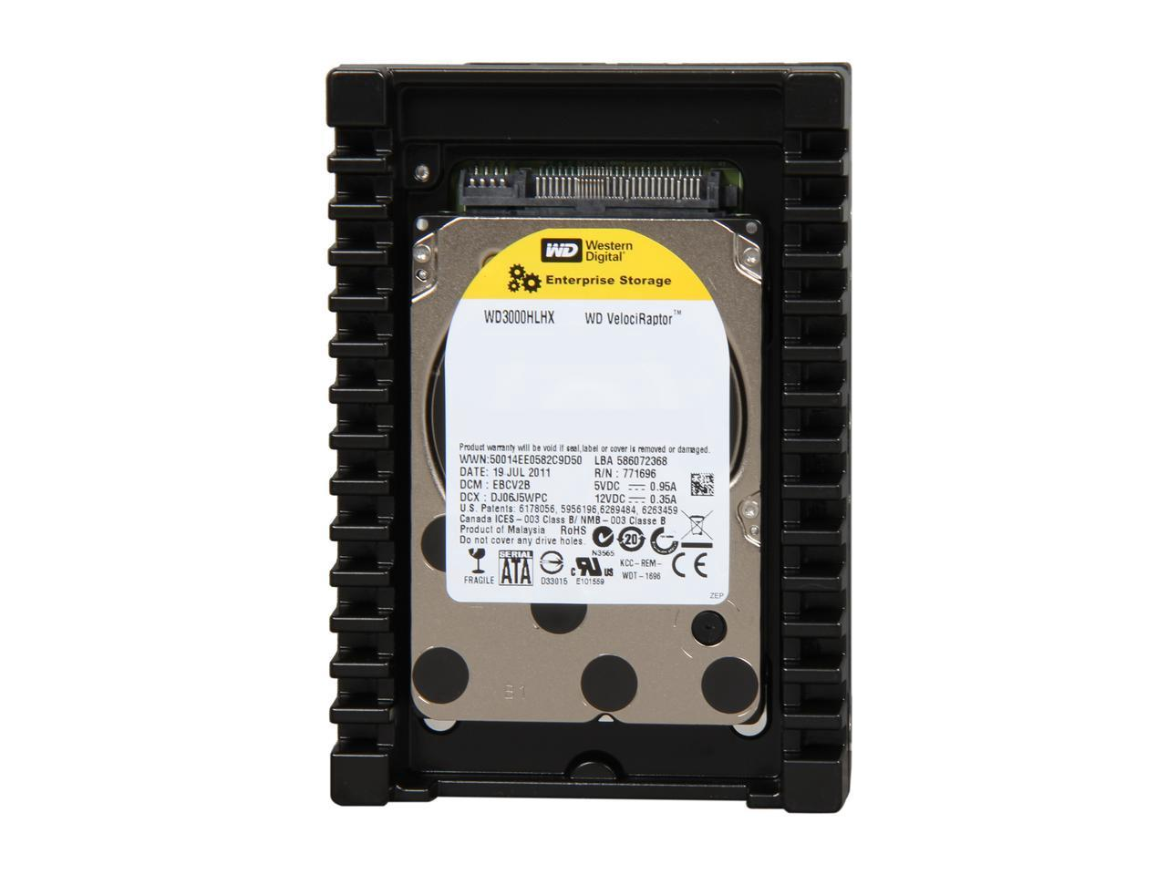Western Digital 300GB VelociRaptor 10K RPM 32MB Cache 2.5