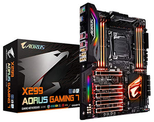Gigabyte X299 AORUS Gaming 7 (rev. 1.0) LGA 2066 Intel X299 SATA 6Gb/s USB 3.1 ATX Motherboard