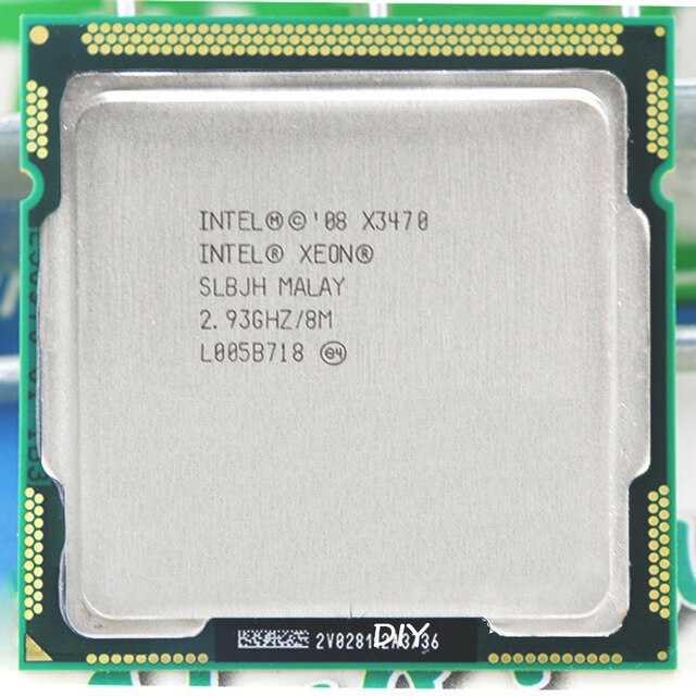 Intel Xeon X3470 Lynnfield 2.93GHz 8MB L3 Cache Socket LGA 1156 95W QC  (SLBJH) Server Processor