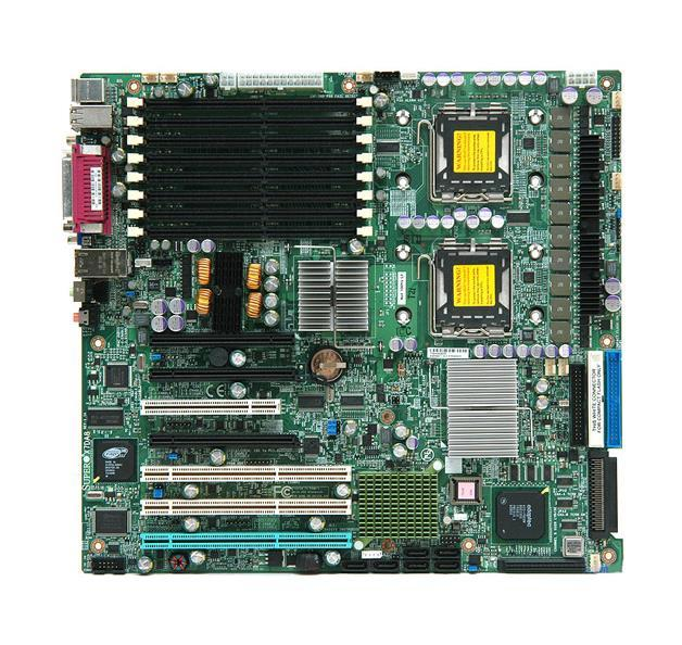 Supermicro X7DA8 Intel 5000X Greencreek Extended ATX DDR2 ECC FB-DIMM Dual Socket LGA 771 Server Motherboard