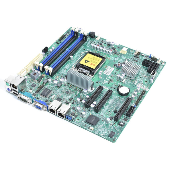 Supermicro X9SCL-F Intel Socket LGA1155 DDR3 SATA 3.0Gb/s PCI Express Server Motherboard.
