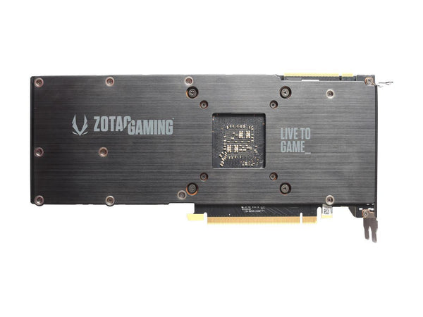 ZOTAC GAMING GeForce RTX 2080 Blower 8GB GDDR6 256-bit Gaming Graphics Card, Metal Backplate - ZT-T20800A-10P
