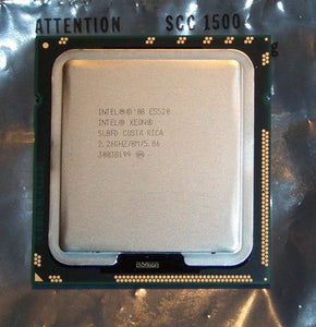 Intel Xeon E5520 Quad Core 2.26GHz LGA1366 8MB 5.86GT/s Intel QPI (SLBFC / SLBFD) Server Processor