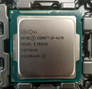 Intel  i3-4170 Haswell 3.7GHz 5.0GT/s 3MB Socket LGA 1150 (SR1PL) Desktop Processor