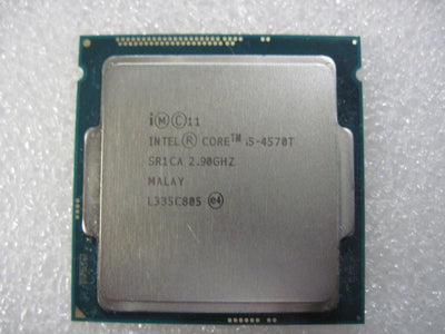 Intel i5-4570T Haswell Dual-Core 2.9 GHz LGA 1150 35W Intel HD Graphics 4600 (SR1CA) Desktop Processor.