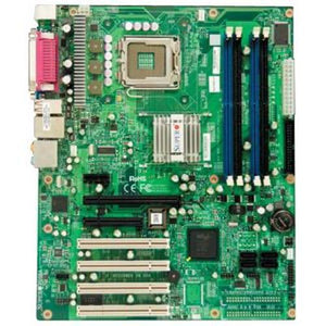 Supermicro PDSBA Rev 1.11 Core 2 Duo Intel G965 LGA775 FSB 1066MHz 4DDR2 SATA Video Audio Gb LAN 4PCI ATX Motherboard.