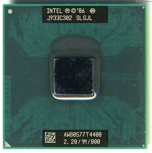 Intel T4400 Pentium DC 2.2GHz Socket P (SLGJL) Processor for Laptop.