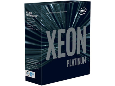 Intel Xeon Platinum 8180 SkyLake 2.5 GHz 38.5MB L3 Cache LGA 3647 205W BX806738180 (SR377) Server Processor
