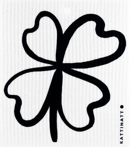 Four-Leaf Clover Black -  swedethings-cad