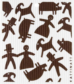 Gingerbread Figures Brown