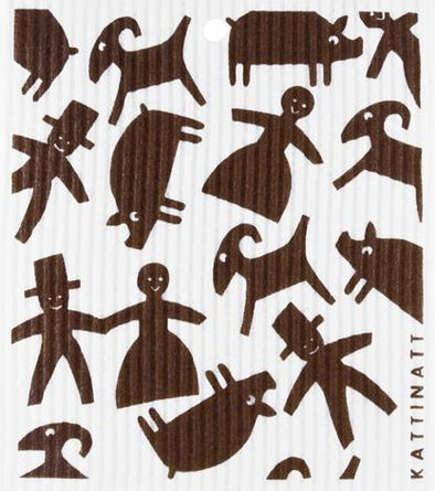 Gingerbread Figures Brown -  swedethings-cad