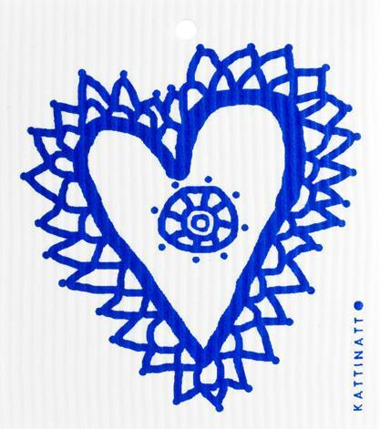 Heart Lace Blue -  swedethings-cad