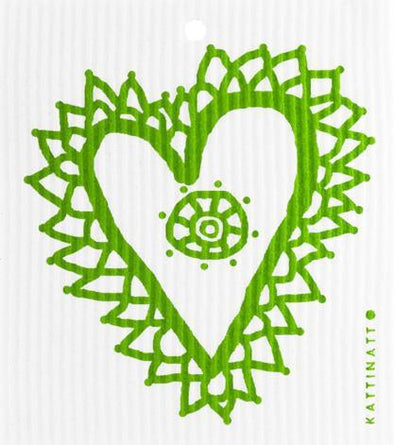 Heart Lace Green -  swedethings-cad