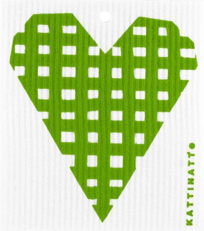 Heart Lattice Green -  swedethings-cad
