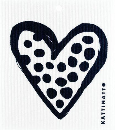 Heart Outline Dots Black -  swedethings-cad