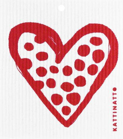 Heart Outline Dots Red -  swedethings-cad