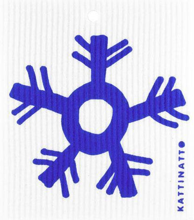 Large Snowflake Blue -  swedethings-cad