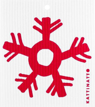 Large Snowflake Red -  swedethings-cad
