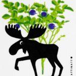 Moose in Blueberry Forest -  swedethings-cad
