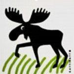 Moose In Grass -  swedethings-cad