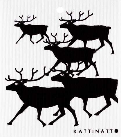 Reindeers Black -  swedethings-cad