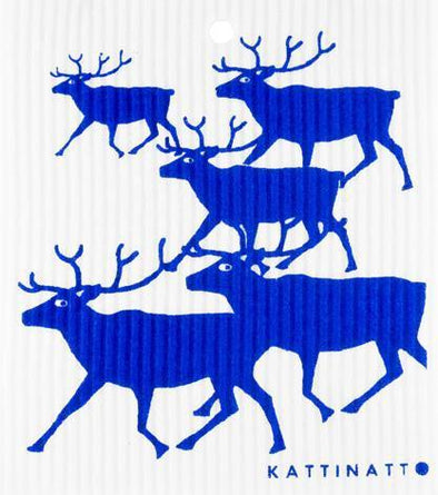 Reindeers Blue -  swedethings-cad