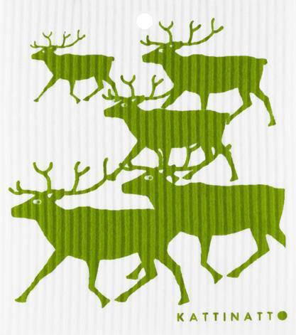 Reindeers Green -  swedethings-cad